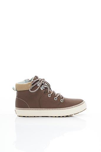 Bottines/Boots marron GIOSEPPO pour garçon