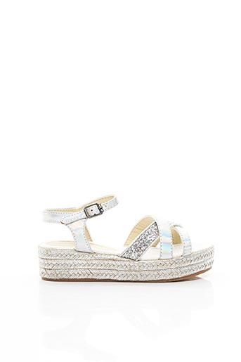 Sandales/Nu pieds gris CONGUITOS pour fille