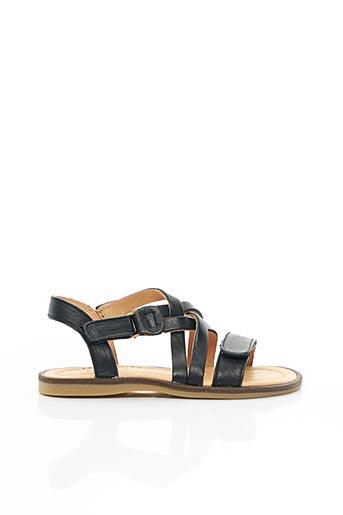 Sandales/Nu pieds noir BISGAARD pour fille