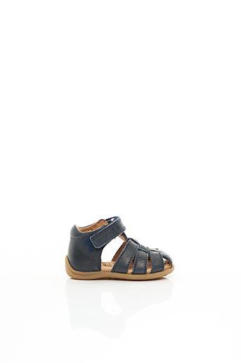 Sandales/Nu pieds bleu BISGAARD pour garçon