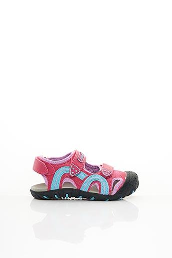 Sandales/Nu pieds rose KAMIK pour garçon