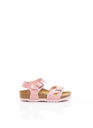 Sandales/Nu pieds rose BIRKENSTOCK pour fille