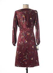 Robe mi-longue rouge TEENFLO pour femme seconde vue
