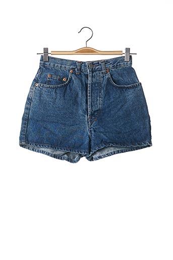 Short bleu TEENFLO pour femme
