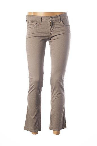 Jeans bootcut gris TEENFLO pour femme