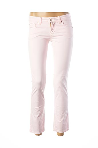 Jeans bootcut rose TEENFLO pour femme