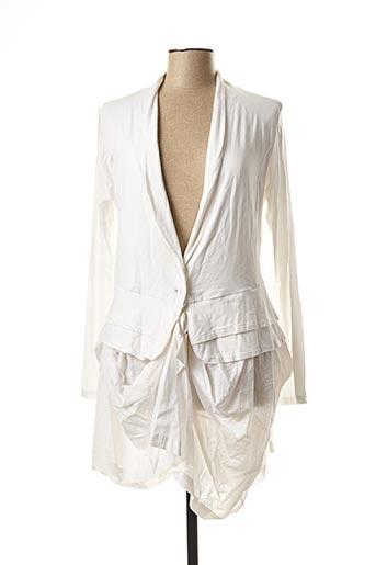 Veste casual blanc RHUM RAISIN pour femme