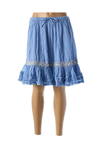 Jupe courte bleu RHUM RAISIN pour femme