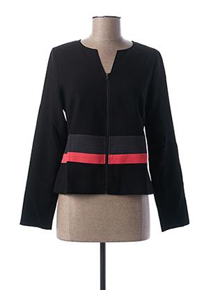 Veste casual noir MISS CAPTAIN pour femme
