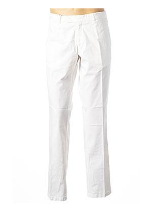 Pantalon chic blanc ARMANI pour homme