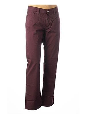 Pantalon casual rouge ARMANI pour homme
