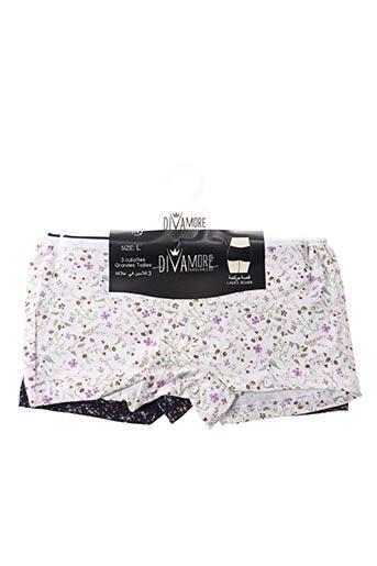 Slip/Culotte blanc DIVAMORE pour femme