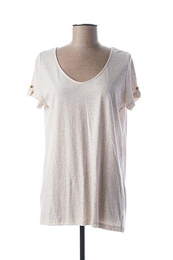 T-shirt manches courtes beige KATMAI pour femme