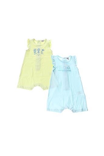 Combi-pantalon bleu NANO & NANETTE pour fille