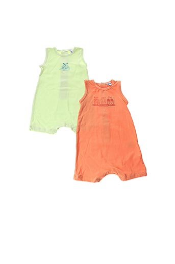 Combi-pantalon orange NANO & NANETTE pour garçon