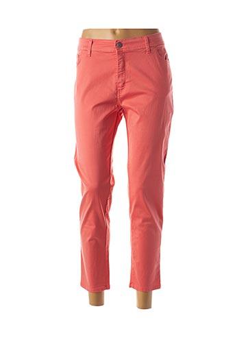 Pantalon 7/8 orange COWEST pour femme