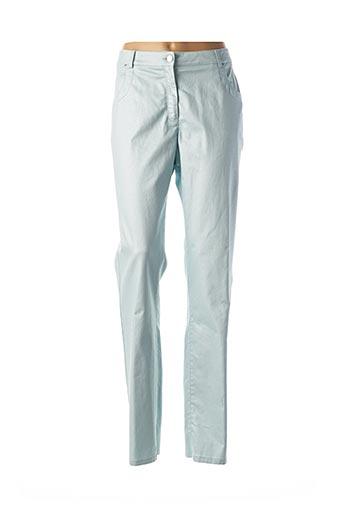 Pantalon casual bleu PAUPORTÉ pour femme