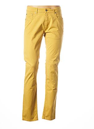 Pantalon casual jaune LA SQUADRA pour homme