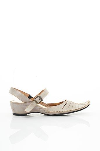 Sandales/Nu pieds beige ALAIN BASTIANI pour femme