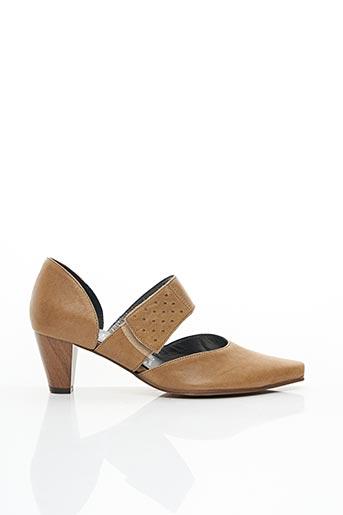 Sandales/Nu pieds beige ELANTINE pour femme