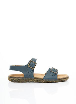 Sandales/Nu pieds bleu EL NATURALISTA pour homme