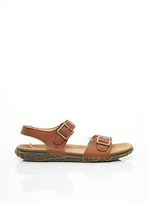 Sandales/Nu pieds marron EL NATURALISTA pour homme