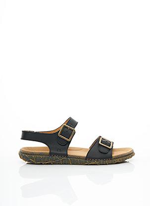 Sandales/Nu pieds noir EL NATURALISTA pour homme