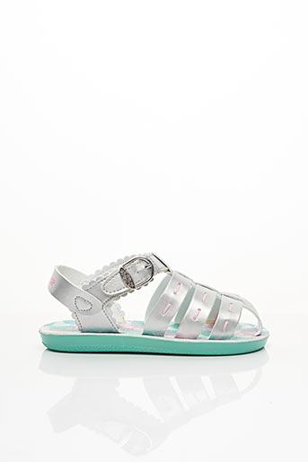Sandales/Nu pieds gris SKECHERS pour fille