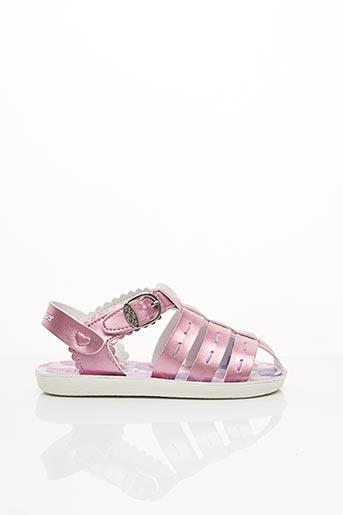 Sandales/Nu pieds rose SKECHERS pour fille