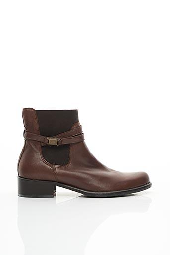 Bottines/Boots marron DONNA MODELLO pour femme