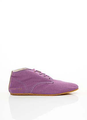 Baskets violet ELEVEN PARIS pour homme