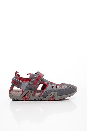 Sandales/Nu pieds gris GEOX pour garçon