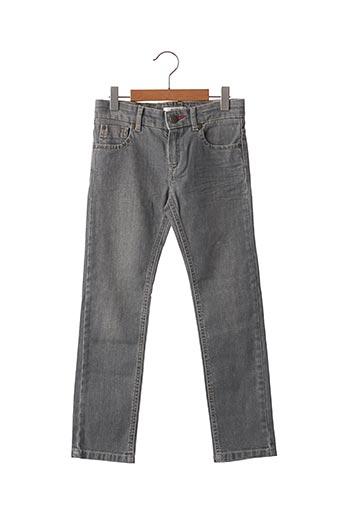 Jeans coupe droite gris MARESE pour garçon