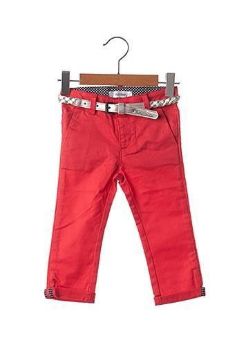 Pantalon chic rouge MARESE pour fille