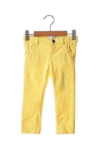Pantalon casual jaune MARESE pour fille