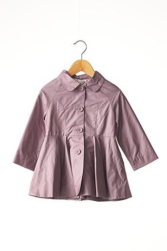 Imperméable/Trench violet MARESE pour fille