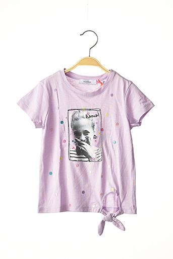 T-shirt manches longues violet MARESE pour fille
