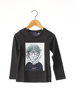 T-shirt manches longues noir MARESE pour fille
