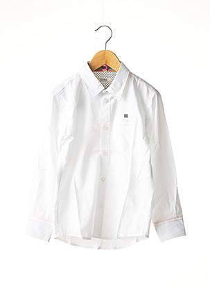 Chemise manches longues blanc MARESE pour garçon