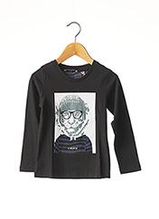 T-shirt manches longues noir MARESE pour fille seconde vue