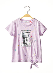 T-shirt manches longues violet MARESE pour fille seconde vue