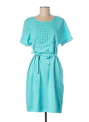 Robe courte bleu EVA KAYAN pour femme