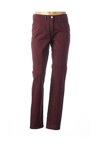 Pantalon casual rouge JOCAVI pour femme