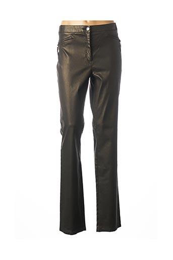 Pantalon casual vert JOCAVI pour femme