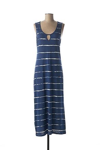 Robe longue bleu SURKANA pour femme