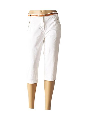 Corsaire blanc MINSK pour femme