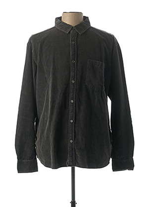 Chemise manches longues gris PADDOCK'S pour homme