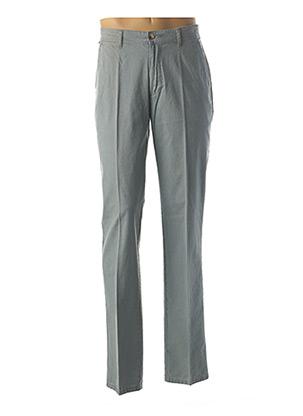 Pantalon chic gris GS CLUB pour homme