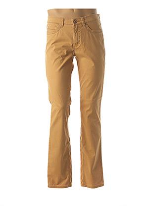 Pantalon casual beige PADDOCK'S pour homme