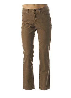 Pantalon casual marron PADDOCK'S pour homme